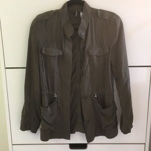 Olive Green Army Combat Jacket